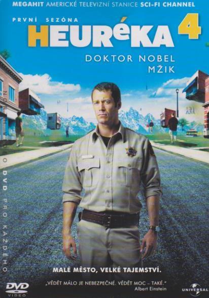 Heuréka 4, první sezóna - DVD