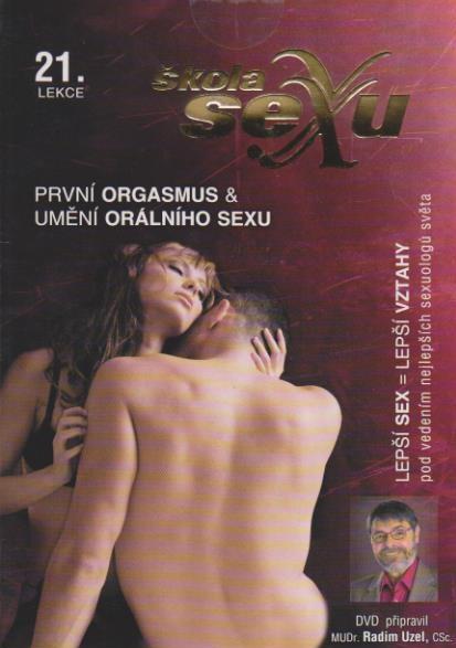 Škola sexu 21 - První orgasmus a umění orálního sexu - DVD