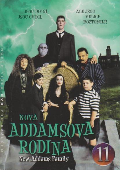 Nová Addamsova rodina 11 - DVD