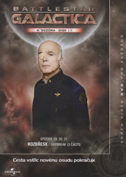 Battlestar Galactica - disk 11 - 4. sezóna,epizody 19-21 - DVD