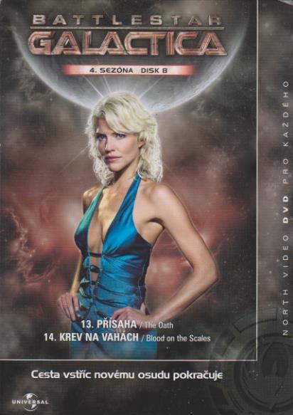Battlestar Galactica - disk 8 - 4. sezóna,epizoda 13-14 - DVD