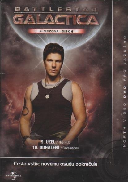 Battlestar Galactica - disk 6 - 4.sezóna,epizody 9-10 - DVD