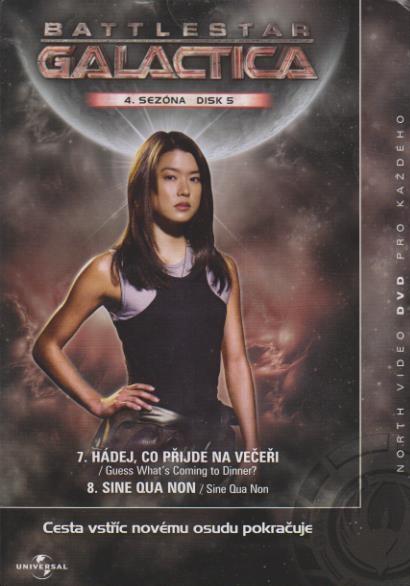 Baattles Galactic - disk 5 - 4.sezóna,epizody 7-8 - DVD