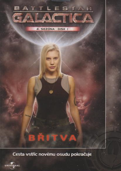 Battlestar Galactic - disk 1 - 4.sezóna - Břitva - DVD