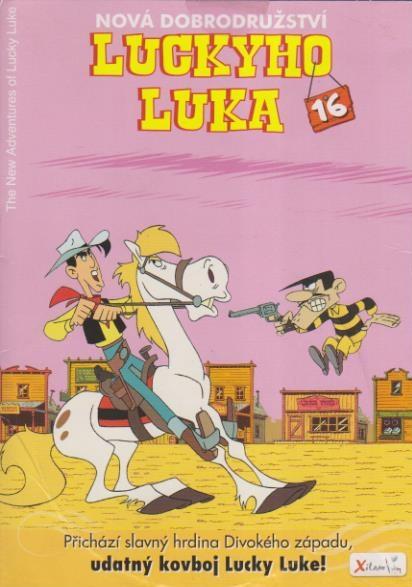 Nová dobrodružství Luckyho Luka 16 - DVD