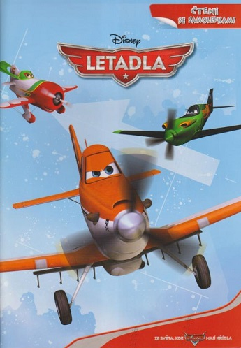 Letadla - Čtení se samolepkami