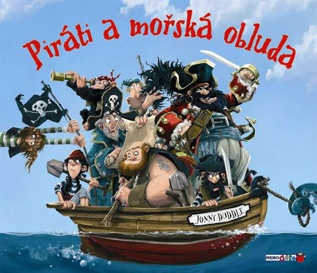 Piráti a mořská obluda - Jonny Duddle