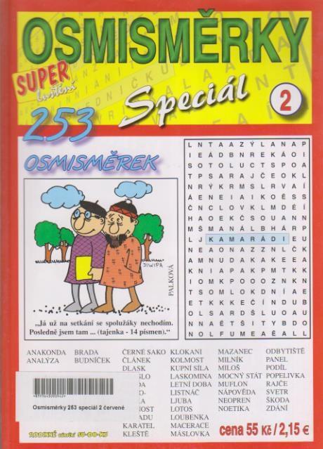 Osmisměrky 253 Speciál 2.