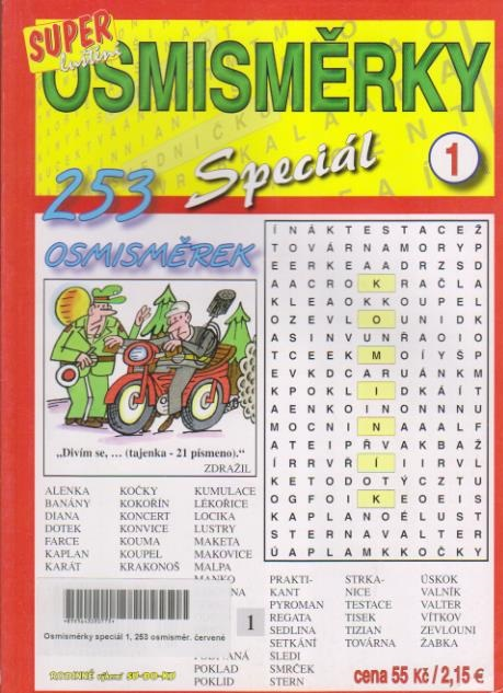 Osmisměrky 253 Speciál 1.