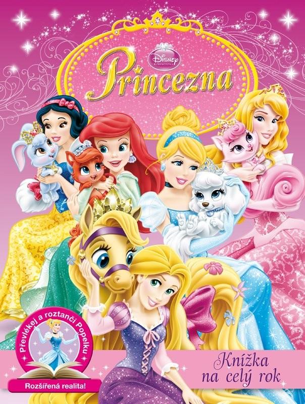 Disney Princezna-Knížka na celý rok
