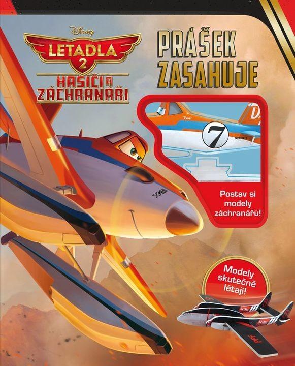 Letadla 2 -  Hasiči a záchranáři - Prášek zasahuje