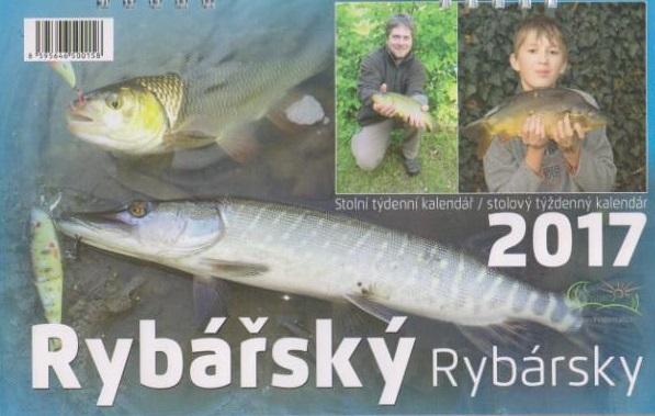 Kalendář Rybářský - 2017