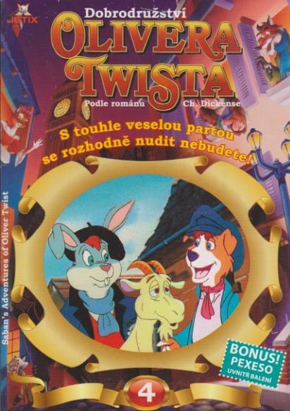 Dobrodružství Olivera Twista 4 - DVD