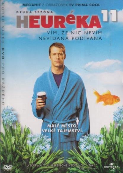 Heuréka 11, druhá sezóna - DVD
