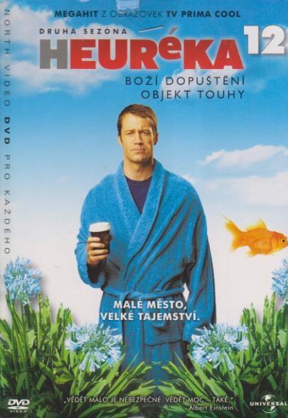 Heuréka 12, druhá sezóna - DVD