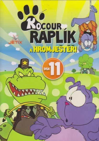 Kocour Raplík 11 - DVD