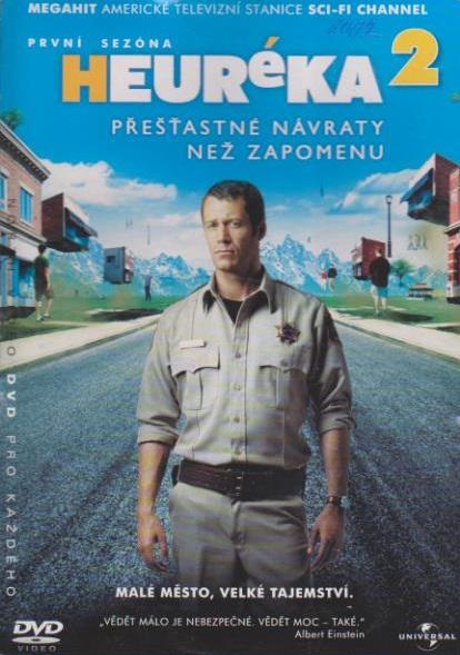 Heuréka 2,první sezóna - DVD