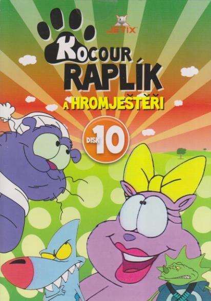 Kocour Raplík 10 - DVD