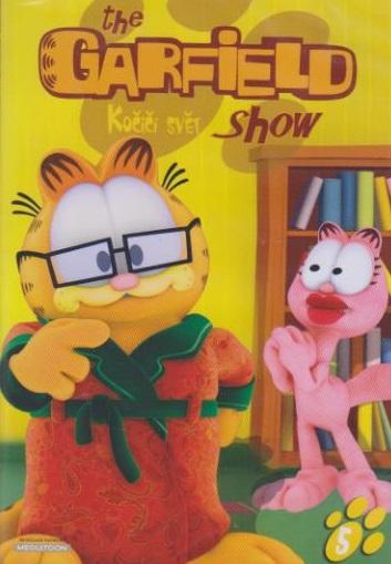 The Garfield show 05- Kočičí svět - DVD