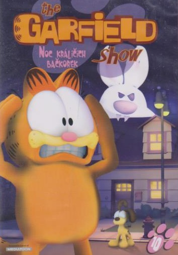 The Garfield show 10 - Noc králičích bačkorek - DVD