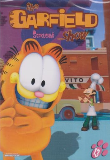 The Garfield show 13 - Šéfkuchař - DVD