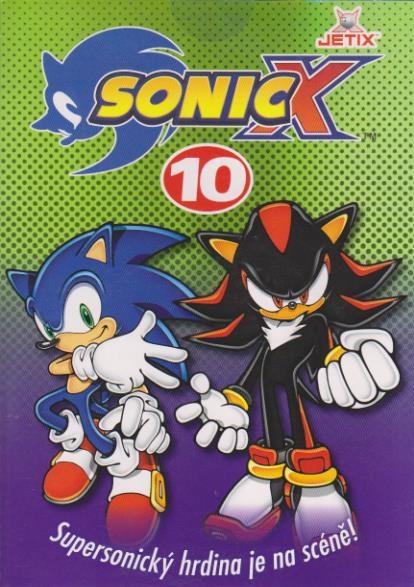 Sonic X - disk 10 - DVD