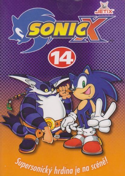 Sonic X - disk 14 - DVD