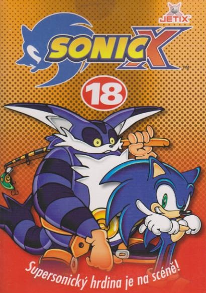 Sonic X - disk 18 - DVD