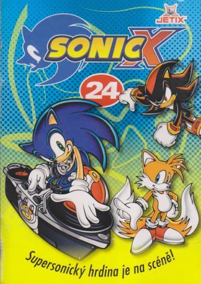Sonic X - disk 24 - DVD