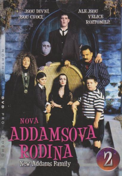 Nová Addamsova rodina 2 - DVD