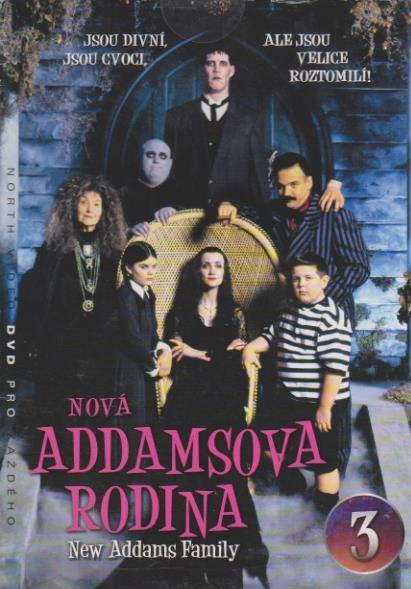 Nová Addamsova rodina 3 - DVD