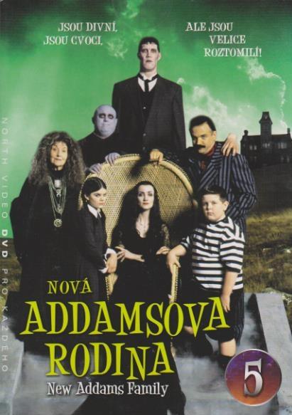 Nová Addamsova rodina 5 - DVD