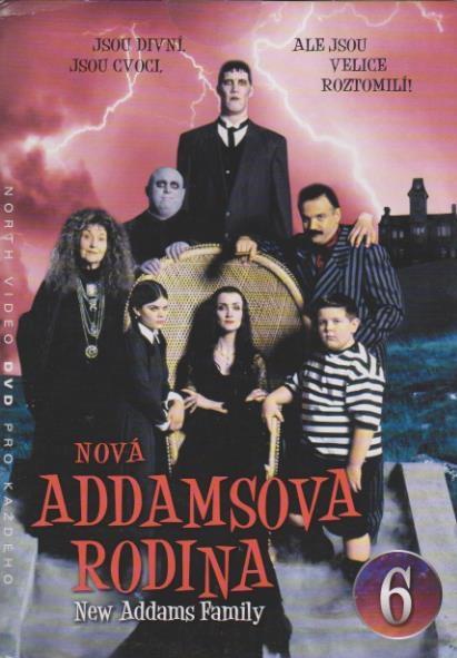 Nová Addamsova rodina 6 - DVD
