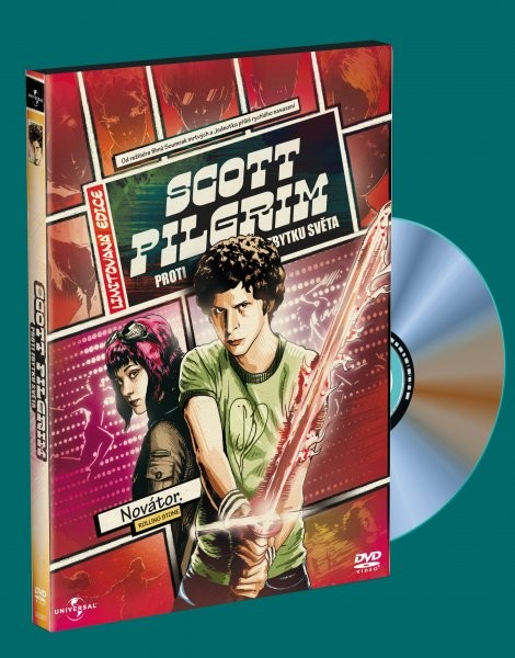 Scott Pilgrim proti zbytku světa - DVD