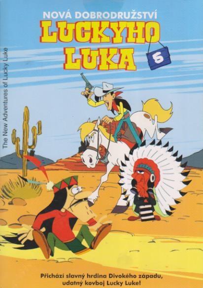 Nová dobrodružství Luckyho Luka 5 - DVD