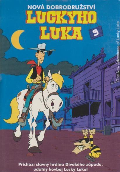 Nová dobrodružství Luckyho Luka 9 - DVD