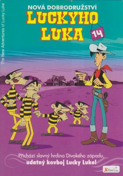 Nová dobrodružství Luckyho Luka 14 - DVD