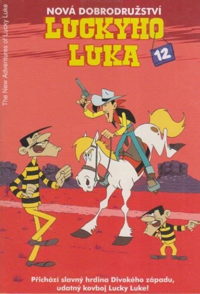 Nová dobrodružství Luckyho Luka 12 - DVD