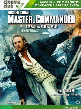 Master & Commander: Odvrácená strana světa - digipack DVD