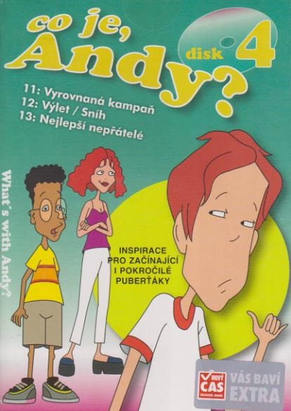 Co je, Andy? 4 - DVD