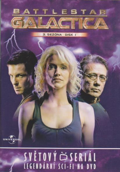 Battlestar Galactica - disk 18 - 3.sezóna,epizody 1-2 - DVD