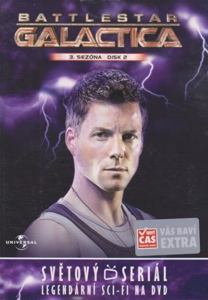 Battlestar Galactica - disk 19 - 3.sezóna,epizody 3-4