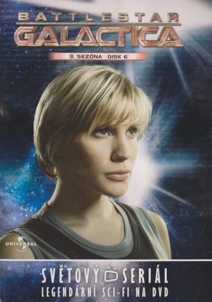 Battlestar Galactica - disk 23 - 3.sezóna,epizody 11-12 - DVD