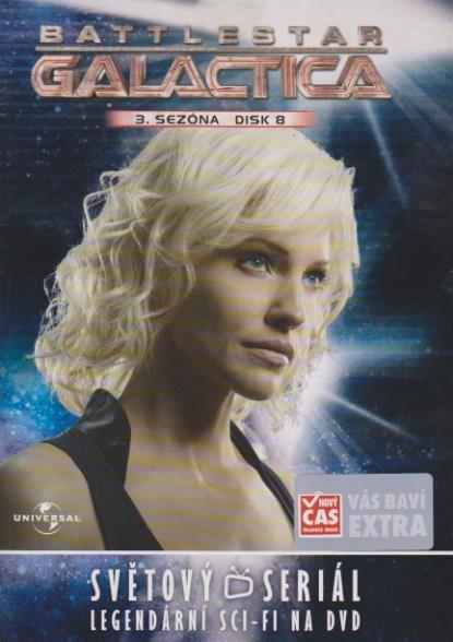 Battlestar Galactica - disk 25 - 3.sezóna,epizody 15-16 - DVD