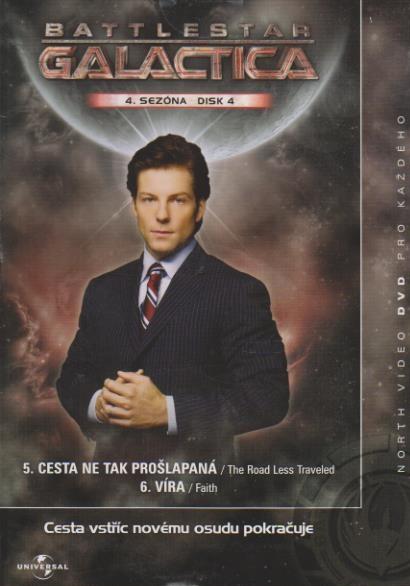 Battlestar Galactica - disk 31 - 4. sezóna, epizody 5-6 - DVD