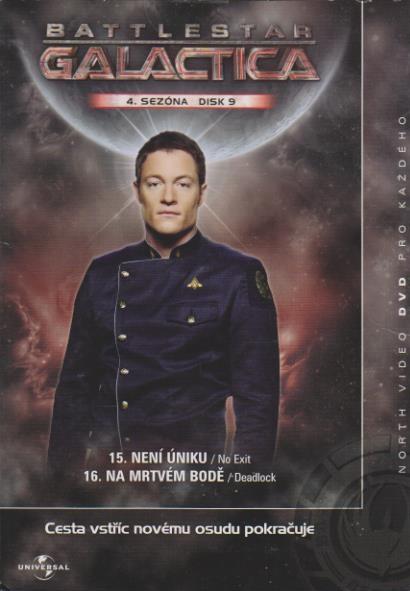 Battlestar Galactica - disk 9 - 4. sezóna,epizoda 15-16 - DVD