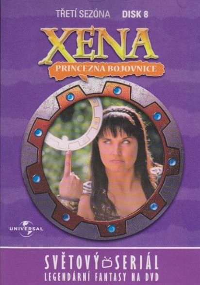 Xena disk 8 - 3. sezóna - DVD