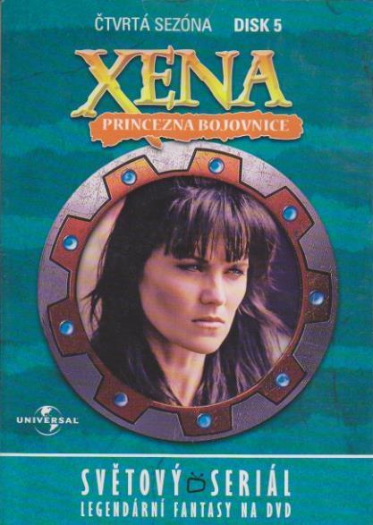 Xena disk 5 - 4. sezóna - DVD
