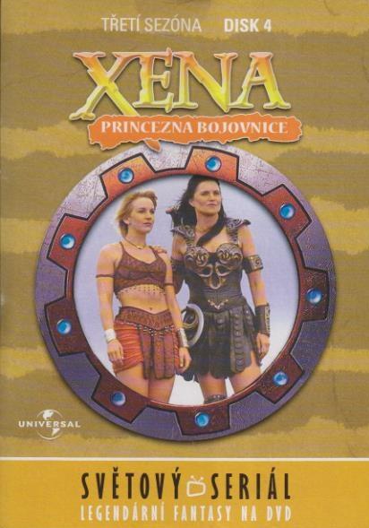 Xena disk 4 - 3. sezóna - DVD