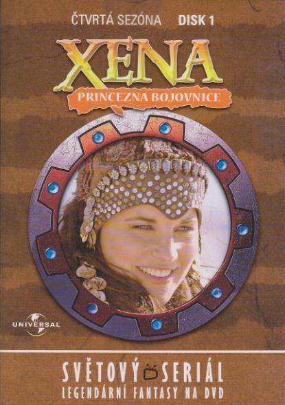 Xena disk 1 - 4. sezóna - DVD